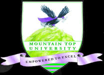 Mountain Top University post utme past questions and answer pdf