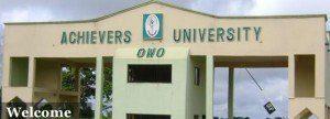 Achievers University Admission Portal