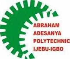 Abraham Adesanya Polytechnic Admission List