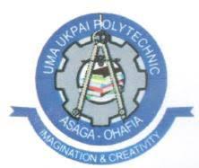 Uma Ukpai Polytechnic HND Admission List