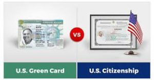 Permanent Resident And U.S Citizen Differences